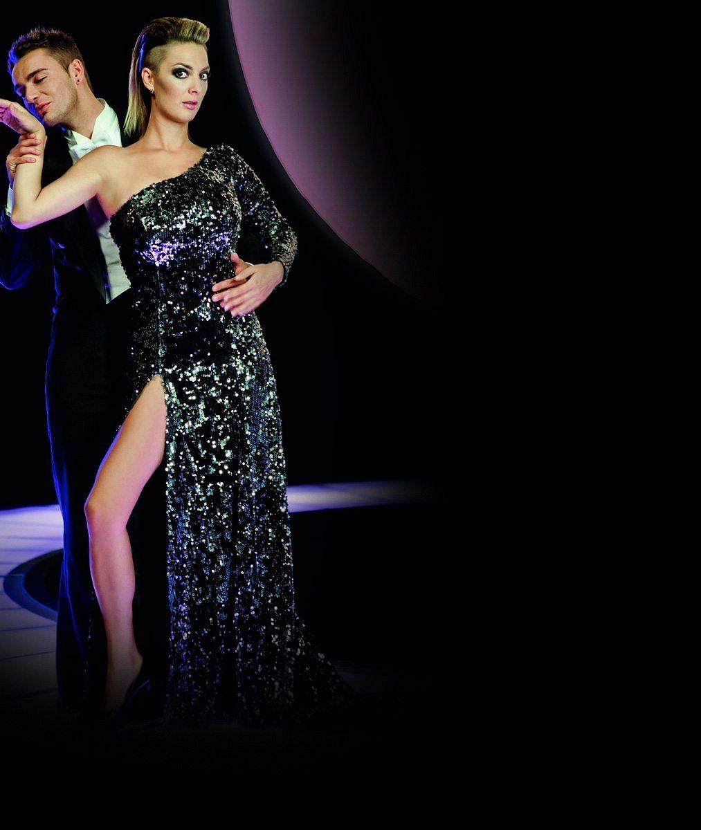 Radost pohledět: Tancem vytrénovaná Bára Poláková předvedla své štíhlé nohy všatech těsně pod zadek