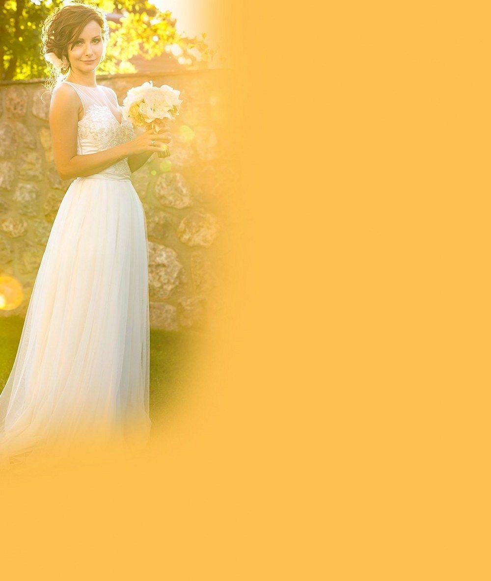 Foto z přísně utajované svatby: Kráska z Ordinace i Vyprávěj vypadala ve svůj velký den jako víla