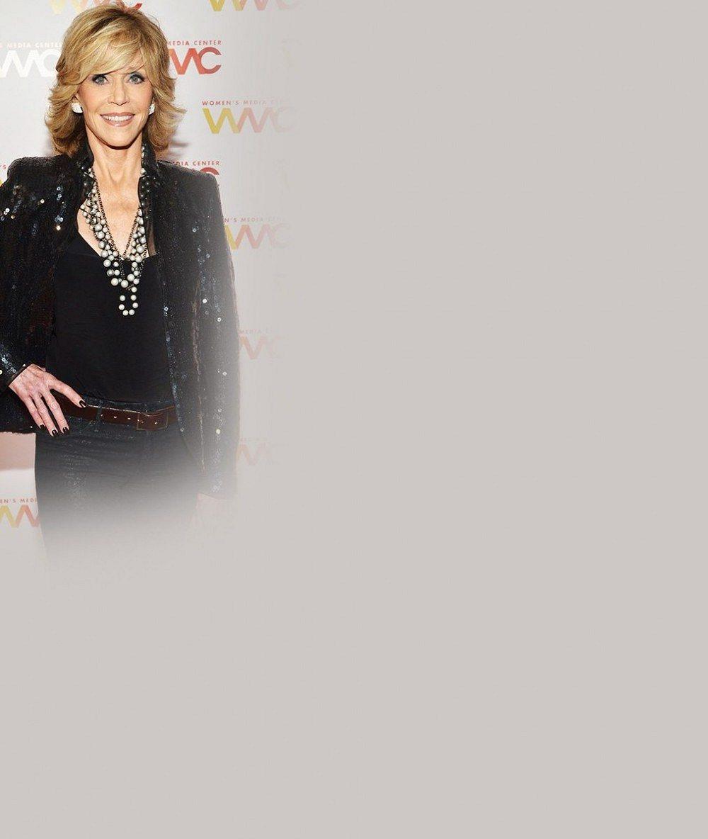Pětasedmdesát a taková sexy figura? Jane Fonda je hříčkou přírody
