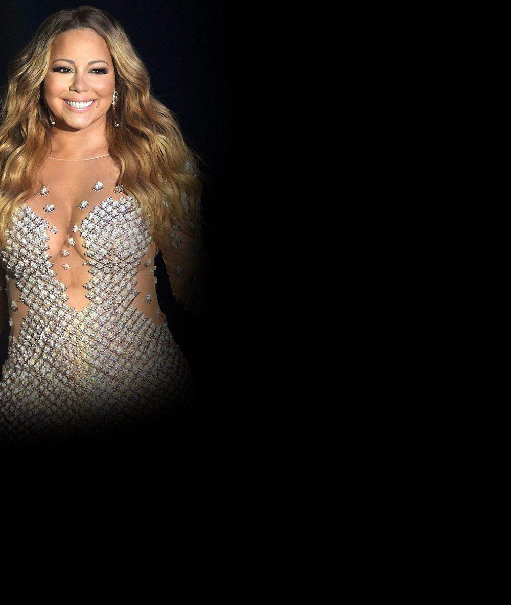 Z rodinného alba: Nenalíčená, oplácaná, ale šťastná Mariah Carey