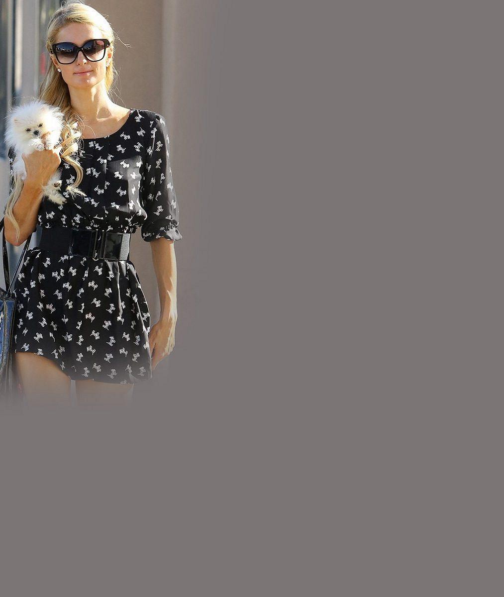 Rozmařilá miliardářka opět provokuje: Polonahá Paris Hilton se na rajcovním snímku nechala zvěčnit nahoře bez