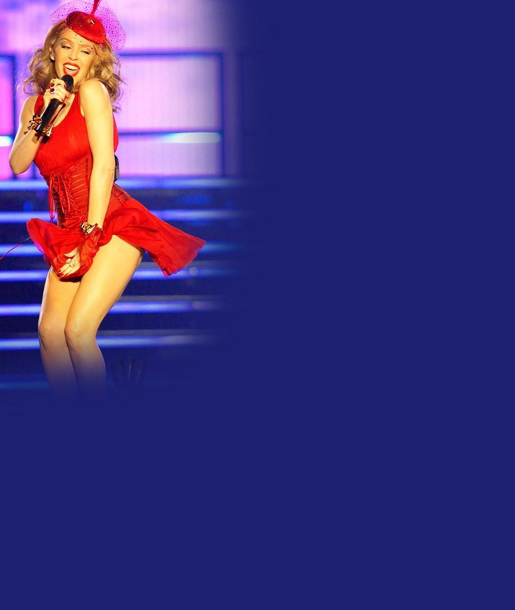 Chápete to? Tohle není žádná retuš, ale fotky z koncertu šestačtyřicetileté Kylie Minogue