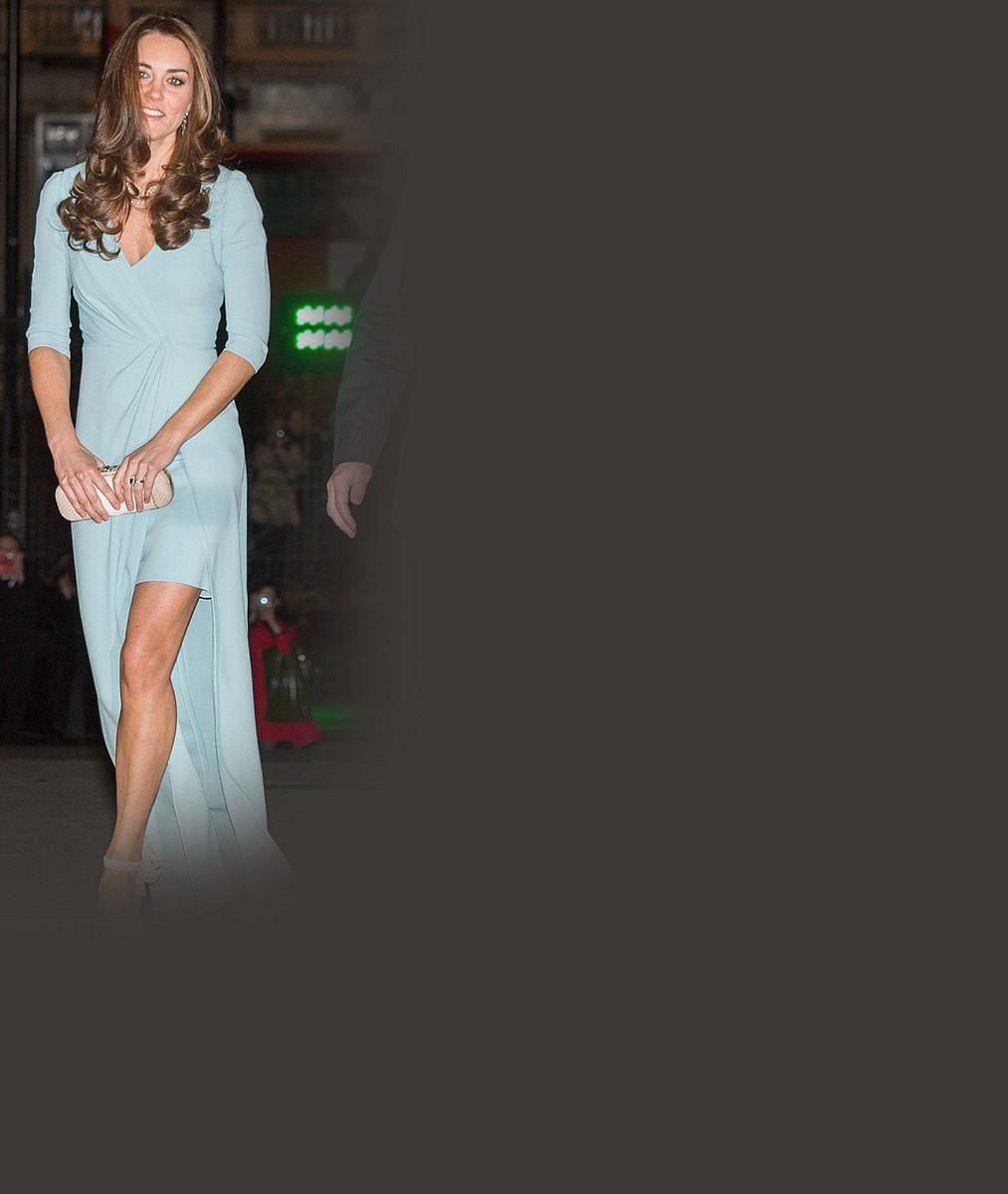 Těhotenství vévodkyni Kate sluší: V nádherných šatech konečně ukázala bříško, kde roste další královský potomek
