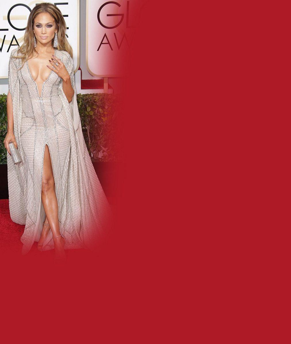 """Nejžhavější host slavnostního ceremoniálu: Jennifer Lopez vyvenčila své """"glóby"""""""
