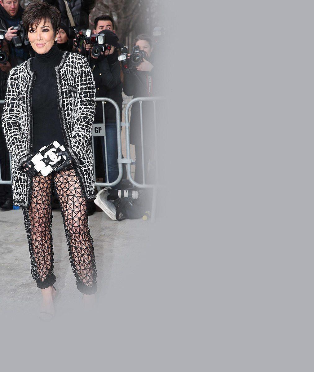 Troufli byste si na mini sotva pod zadek a všeodhalující kalhoty? 59letá máma Kim Kardashian ano!