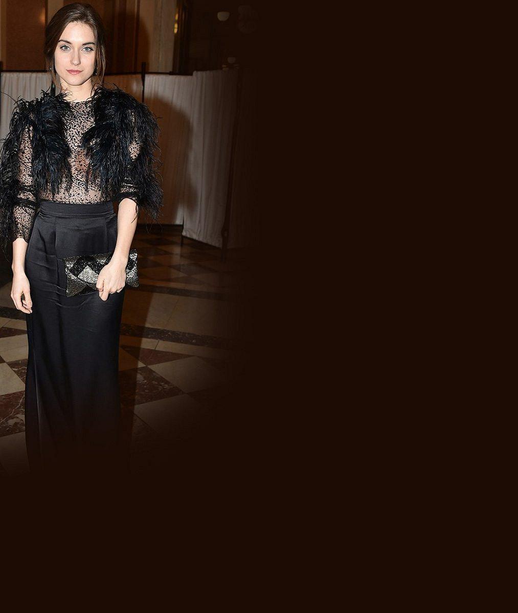 Mrkněte na tu krásku: Slovenská hvězdička s očima Andrey Verešové Lva nevyhrála, ale model večera ano