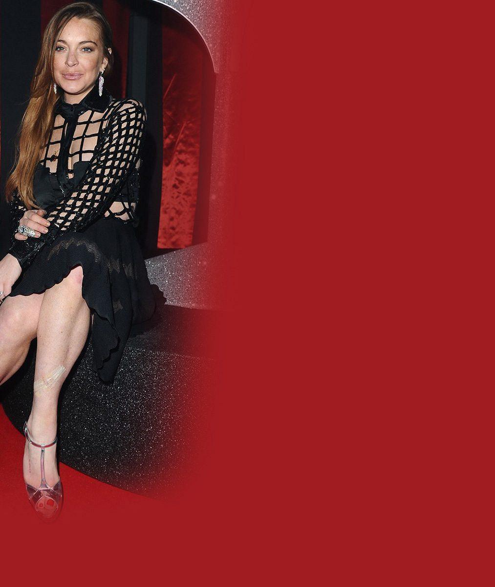 Co to se sebou provedla? Lindsay Lohan se s napíchanými rty přidala ke kačeří farmě