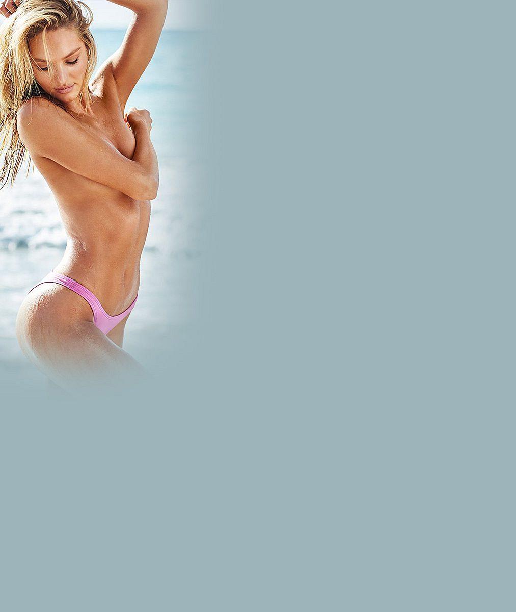 I katalogy Victoria's Secret přitvrzují: Prádlo je stále úspornější a modelky obnaženější