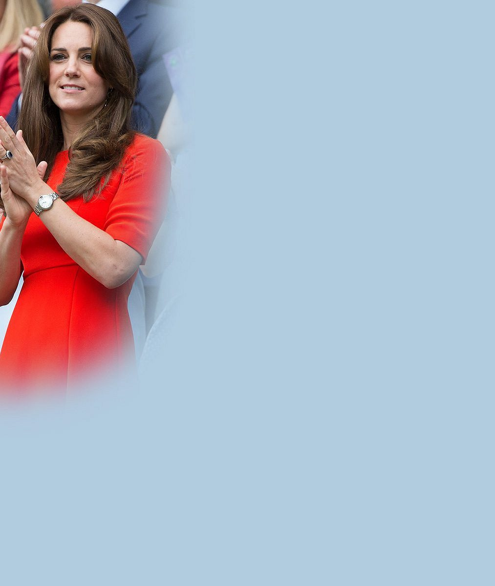 Princ William poctil Wimbledon návštěvou i s manželkou Kate štíhlou jako proutek