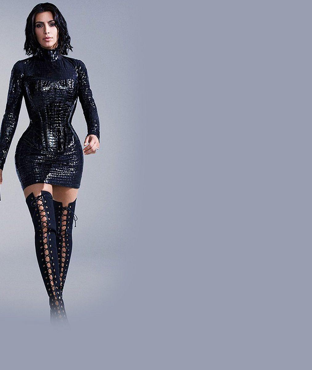 Chudák vyretušovaná Kim v nové kampani: Lidé si z ní utahují, že o téhle postavě si může nechat zdát
