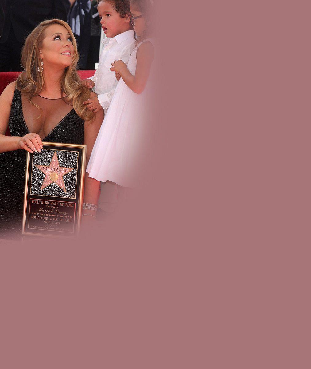 Mariah Carey dobře ví, co hanbatého zabere, ikdyž bude pořád kulatější