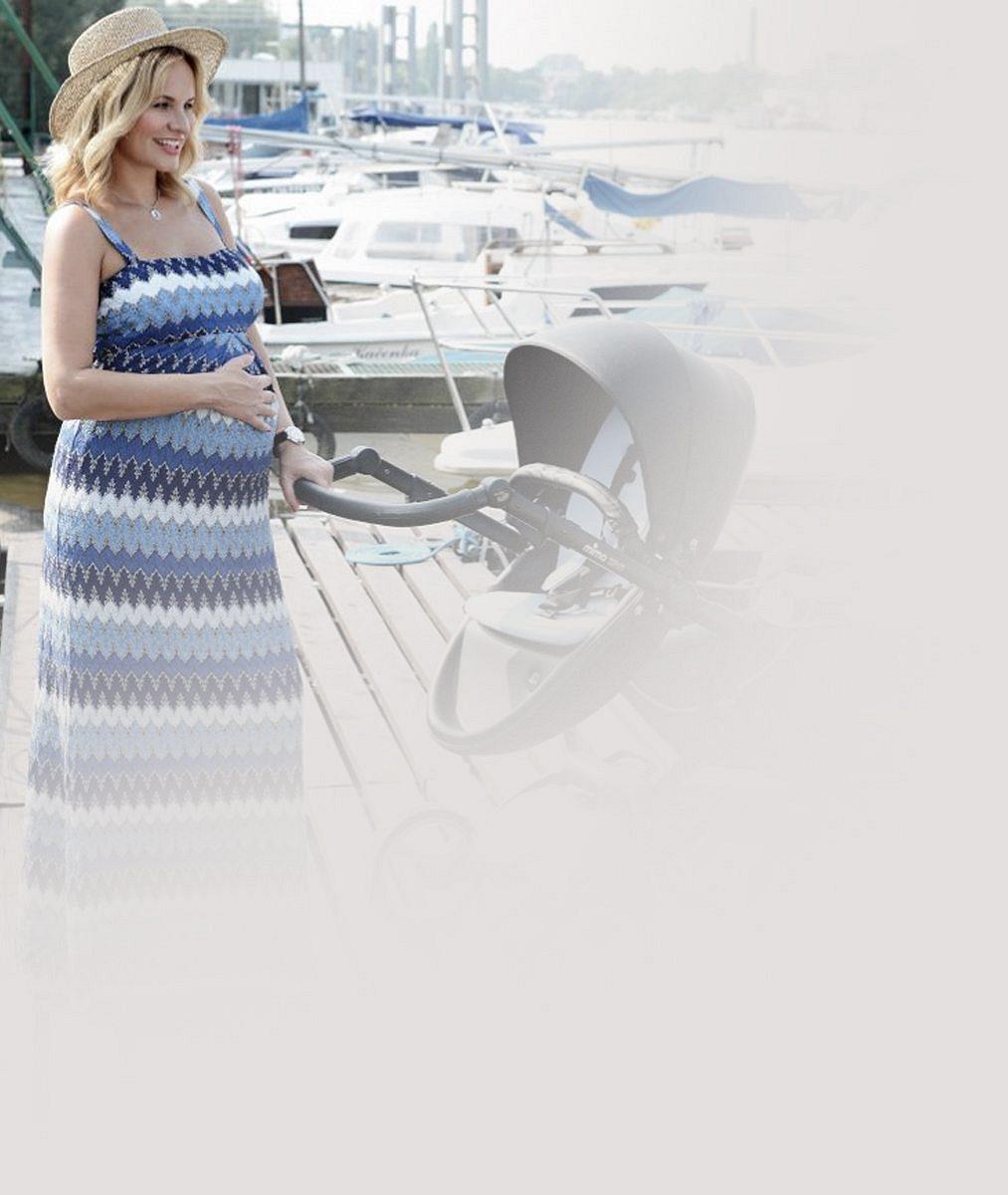 Reklama na štěstí: Tohle jsou ty nejrozkošnější těhotenské fotky Moniky Absolonové