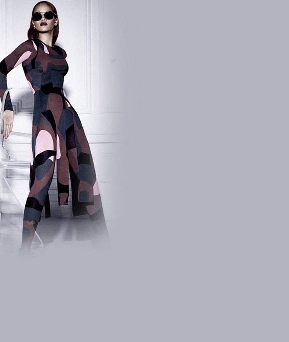 Zpěvačka v roli modelky: Rihanna pózovala pro luxusní módní dům
