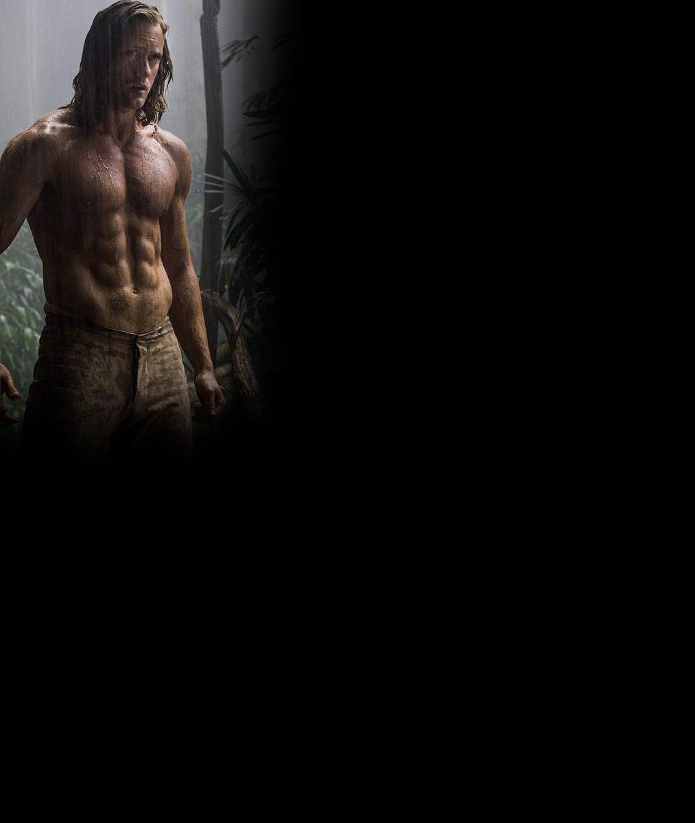Seriálový upír se ve fitku pořádně zapotil: Jako Tarzan předvede luxusně vypracované tělo