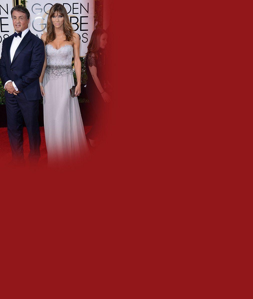 Pět pokladů Sylvestera Stalloneho: Vysněná herecká cena, krásná manželka a tři půvabné dcery