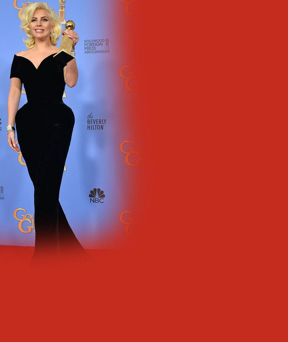 Odhalování ňader se vyplatilo: Lady Gaga dostala za pikantní roli, jíž znehodnotila úspěšný seriál, hereckou trofej