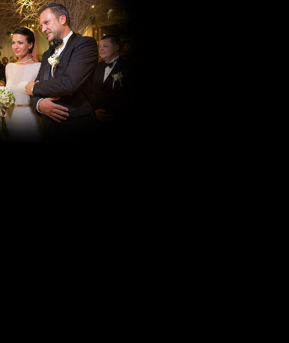 Exkluzivní foto ze svatby: Takhle Gabriela Partyšová v sobotu zpečetila své partnerské štěstí