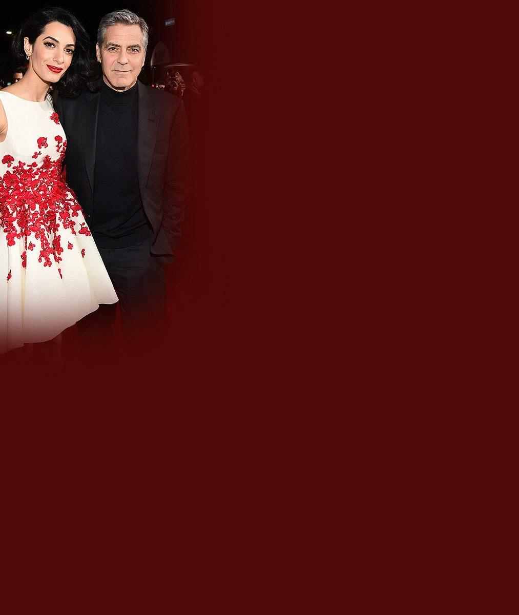 Hrdličky Clooneyovi: Útlounká Amal vypadá pořád jako holčička. Přitom jí táhne na čtyřicet!