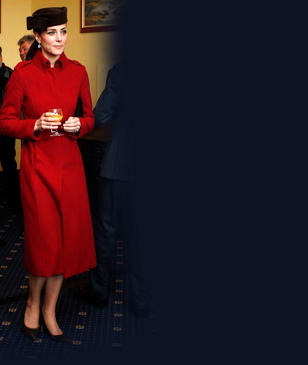 Je to spořivá žena! Vévodkyně Catherine už potřetí ve stejném pět let starém kabátku