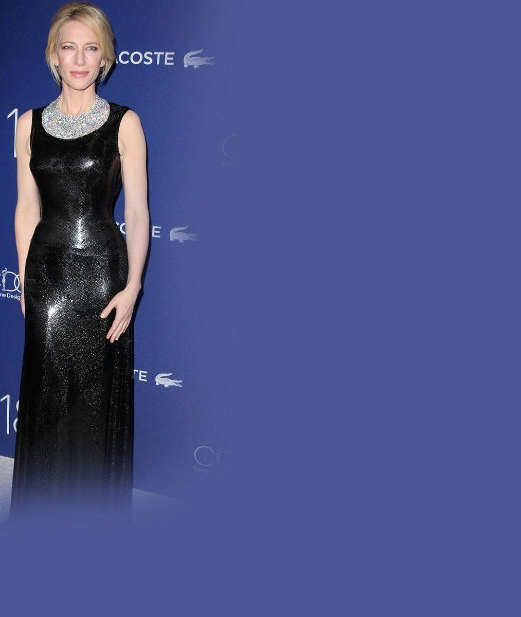 Dokonalost sama: Cate Blanchett je na ceremoniálech snad ještě krásnější než na filmovém plátně