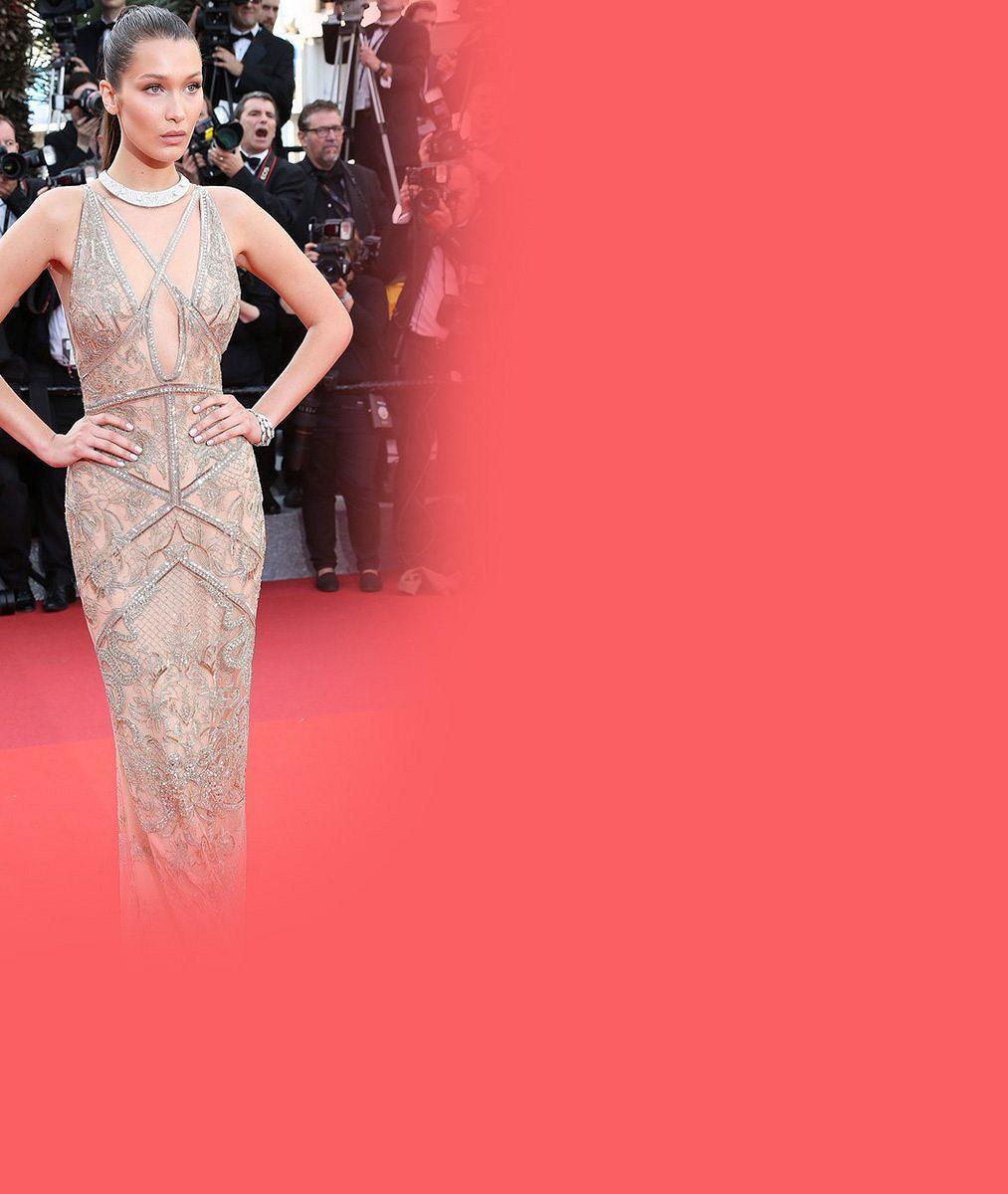 Stále populárnější modelka prokázala výběrem šatů velkou odvahu. Uhlídat je už nezvládla