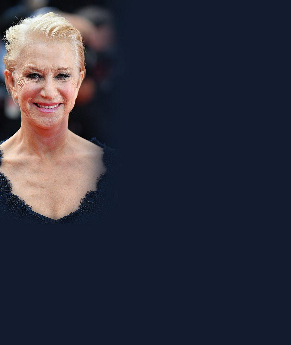 Aj ta krajta. Hellen Mirren (70) upadla na schodech v Cannes