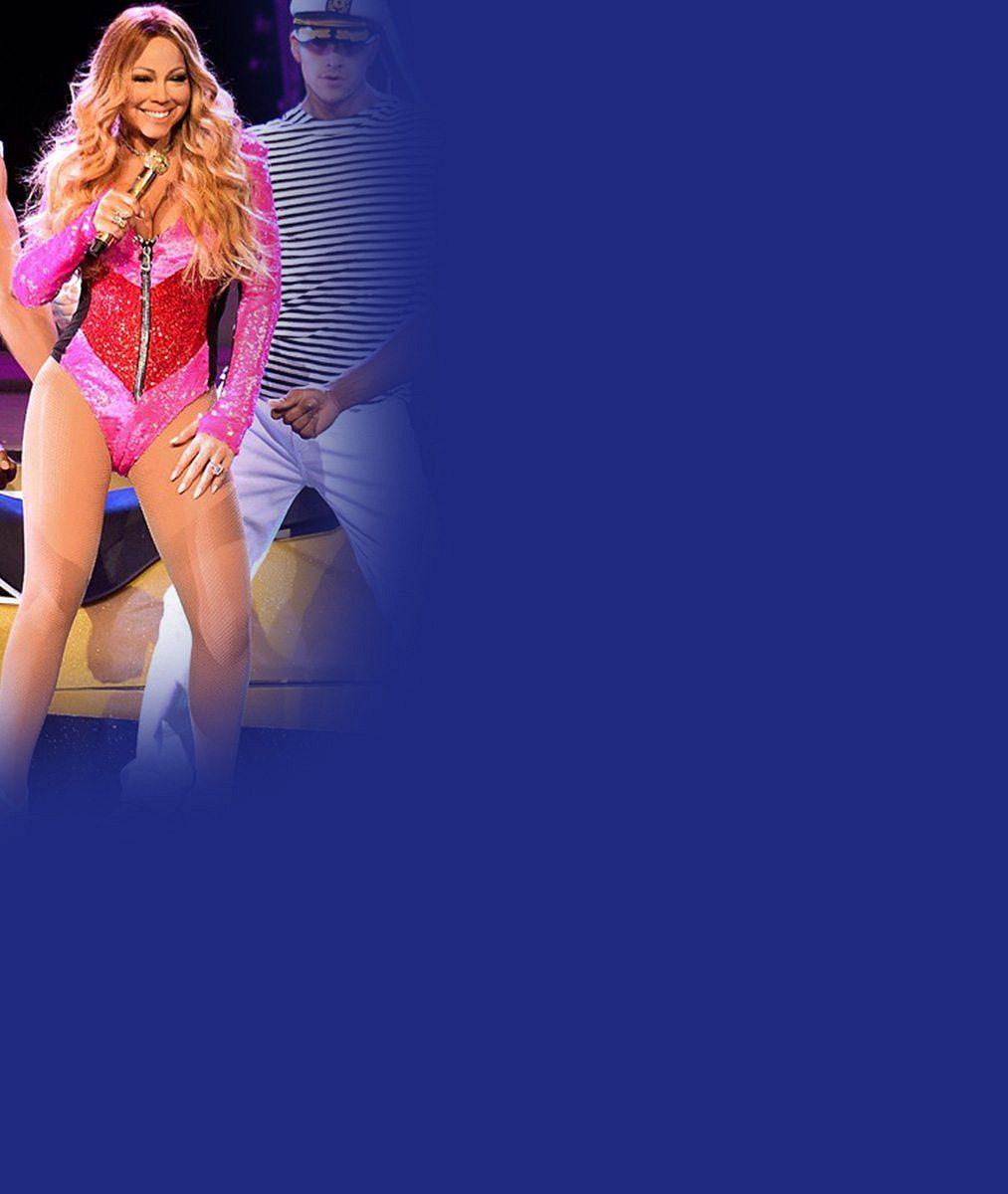 Bravo! Mariah Carey si opět může dovolit sexy kostýmy. Takhle v nich přitom vypadala ještě loni