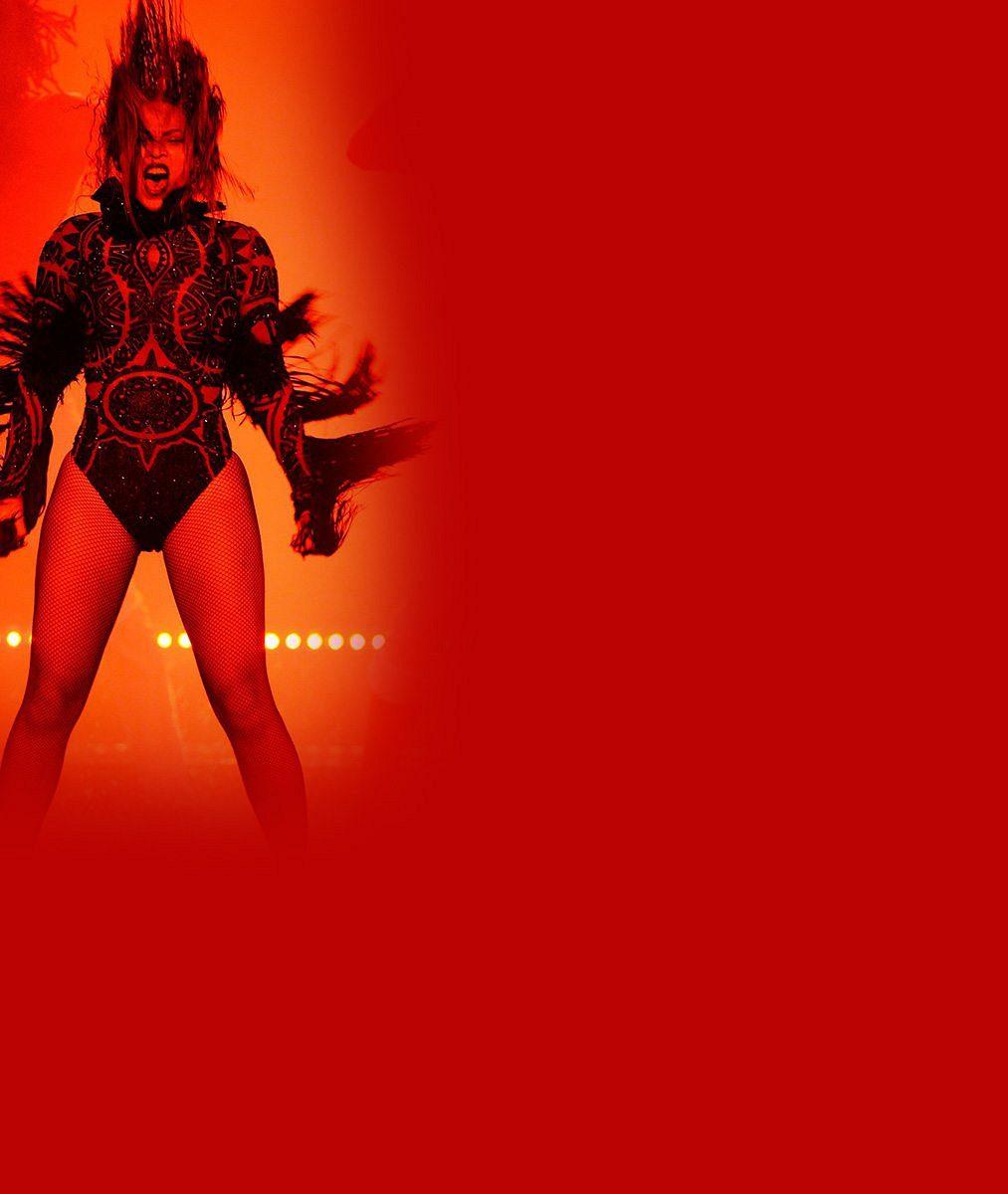 Beyoncé předvedla dokonalé tělo adechberoucí show, po níž zůstala úplně mokrá
