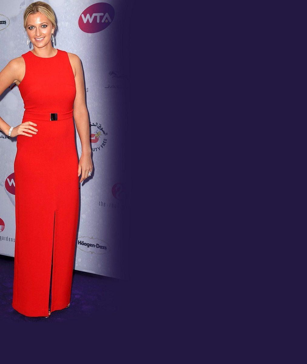 Dvojnásobná wimbledonská vítězka Kvitová je parádnice: Pořizuje za honoráře diamanty?