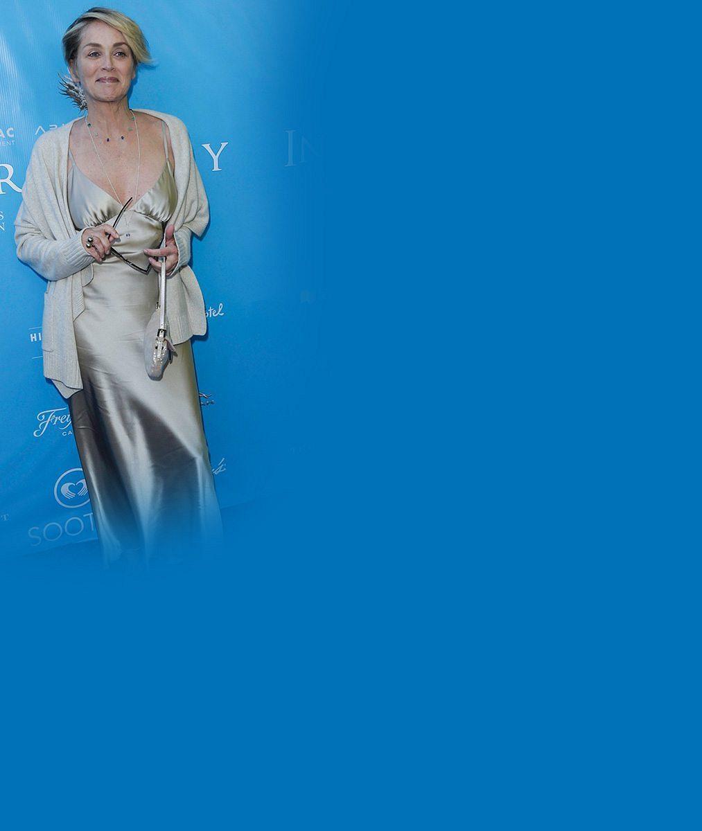 Sharon Stone (58) si nedá říct: Bez podprsenky zavítala i na galavečeři OSN