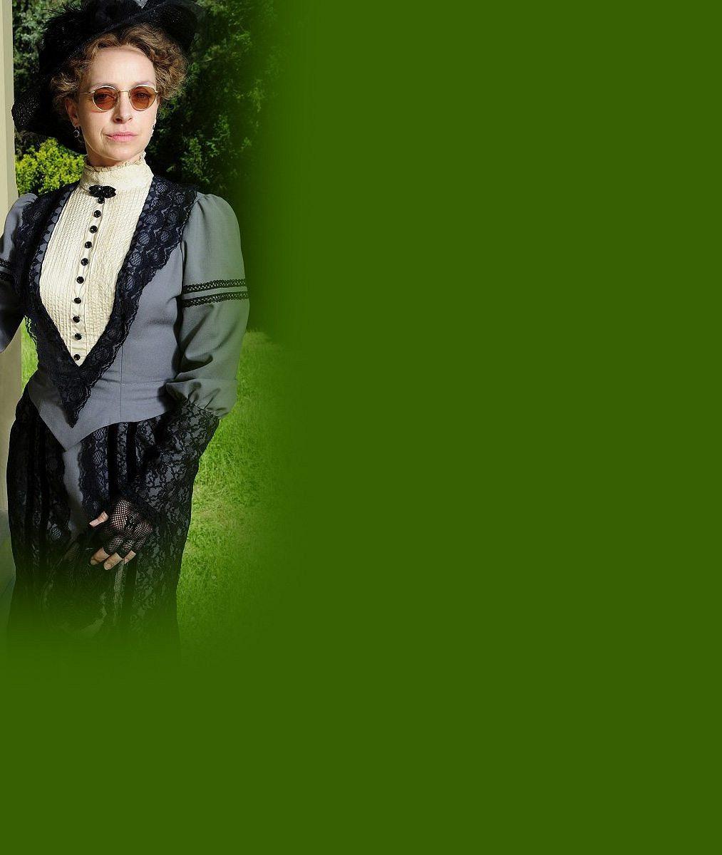 Vilhelmová v seriálu zestárla a ukázala vrásky: Podívejte se, jak vypadá coby ženuška známého obchodníka z 19. století