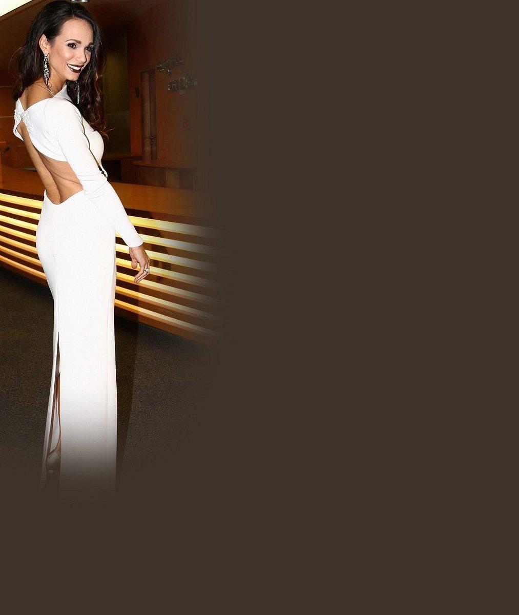 Poprvé po odchodu od Noida na veřejnosti: Gábina Bártová dokonce předvedla svatební šaty