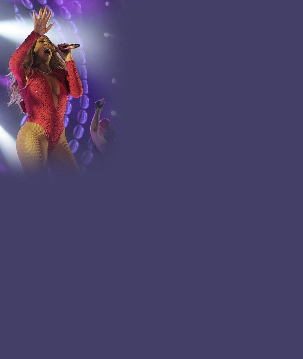 Výstřih a tanga: Mariah Carey na koncertě v Mexiku exsnoubenci ukázala, oč přišel!