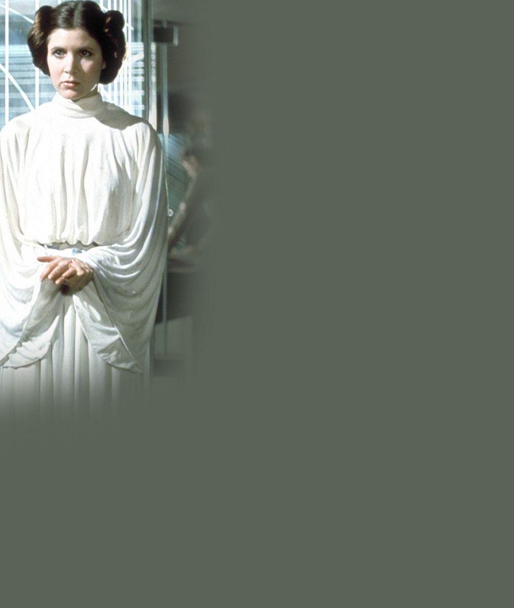 Dvojitá dávka smutku: Filmové hvězdy na pohřbu oplakávaly princeznu ze Star Wars i její slavnou matku