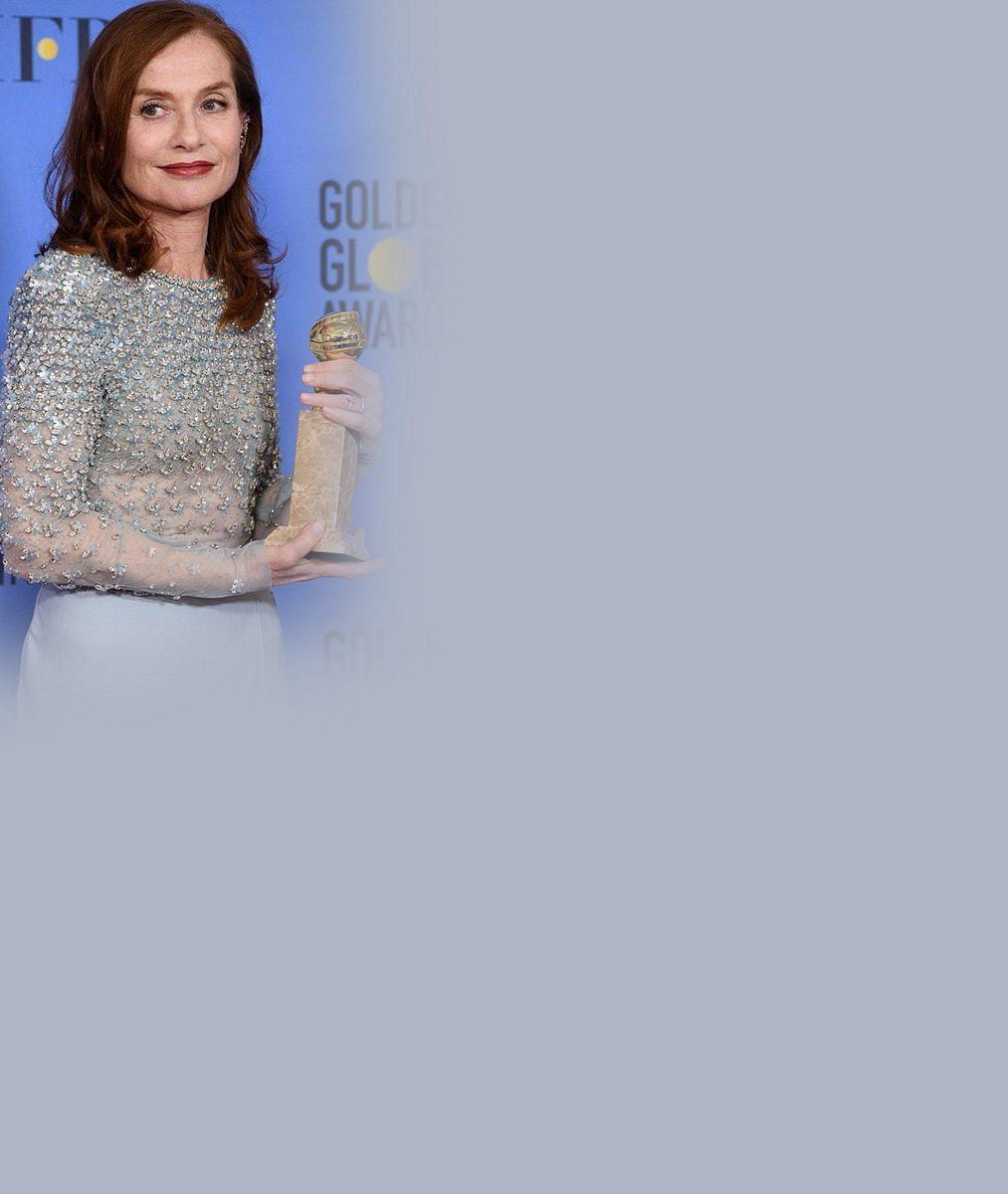 Na Zlatých glóbech bodovala herečka proslulá filmem plným brutální erotiky: Takhle senzačně vypadá po šedesátce