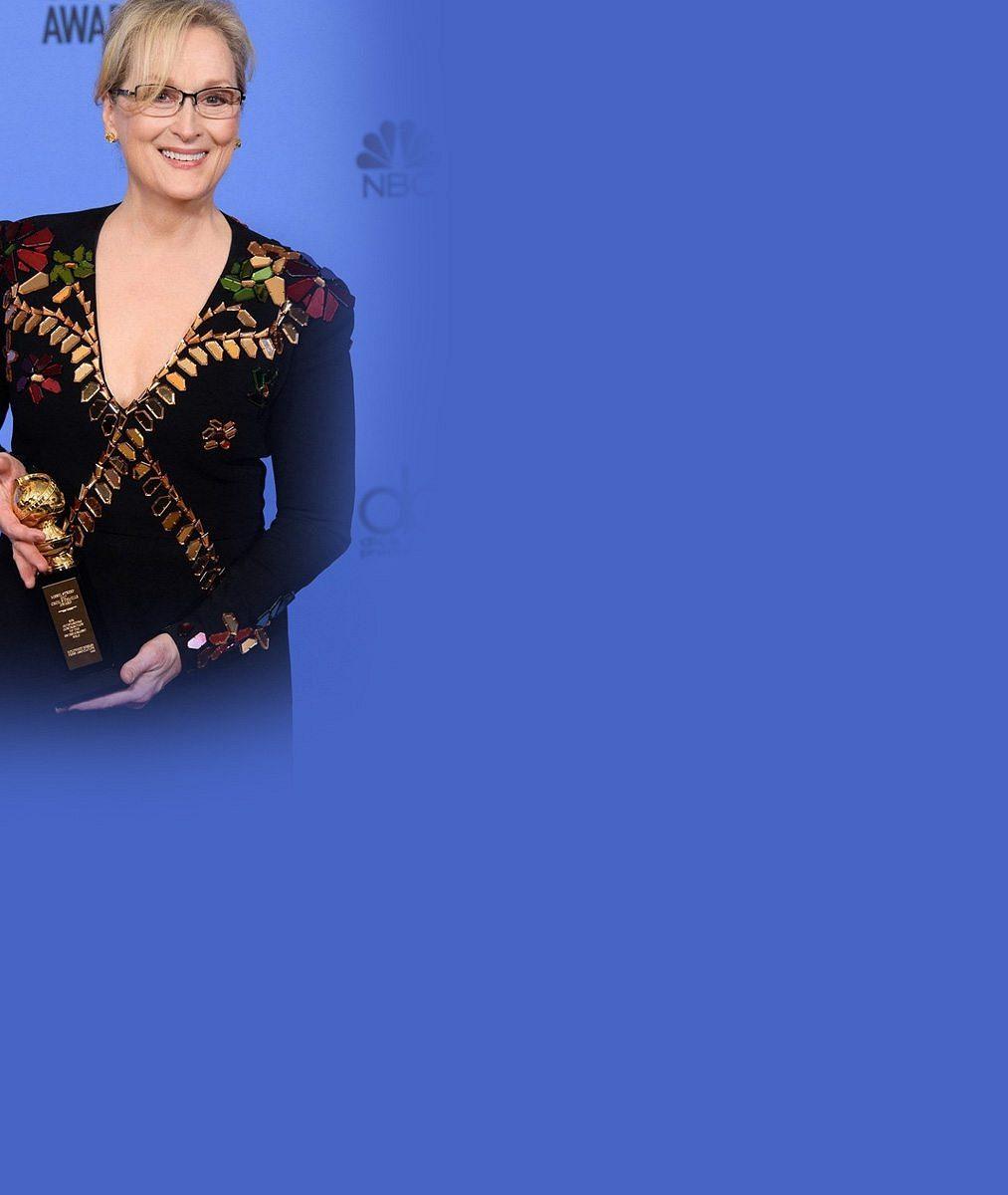 Cenou za celoživotní dílo kariéra nekončí: Legendární Meryl Streep se nebojí ani Trumpa