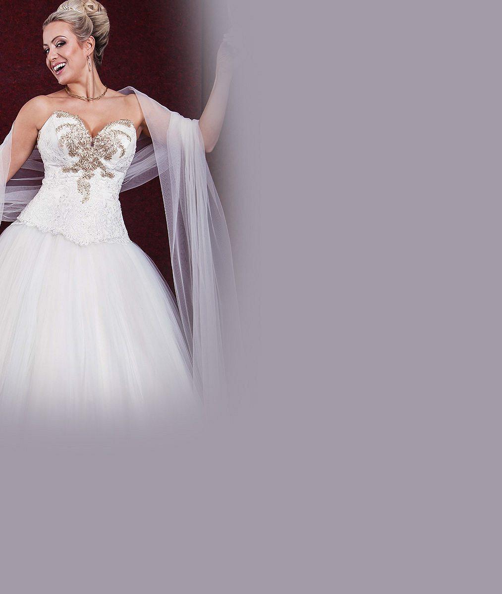 Chtějí být za princezny: Svatební šaty, ve kterých se chce vdát Eliška Bučková, okouzlily i Terezu Mátlovou