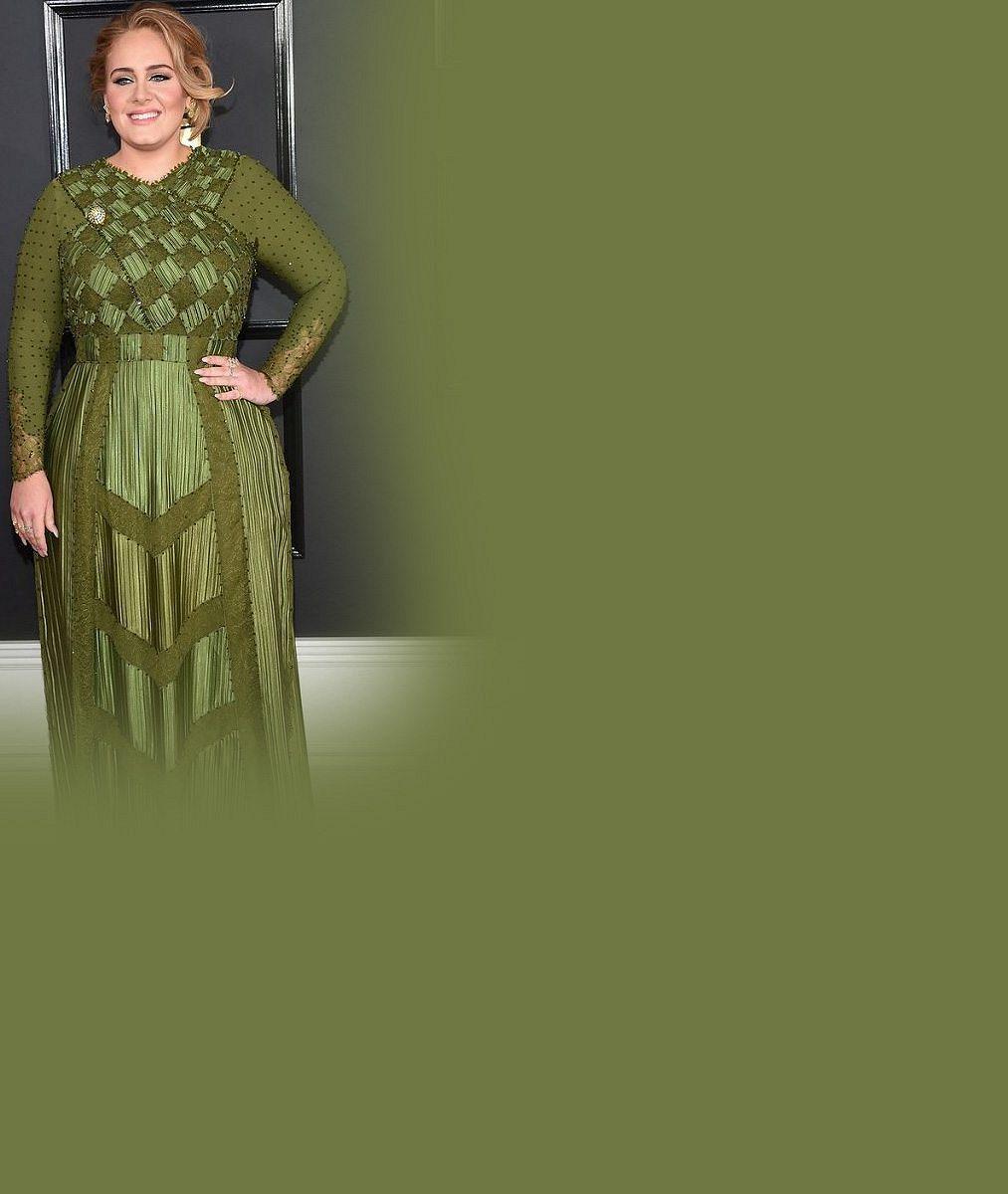 Hubne, nebo tloustne? V těchto outfitech boubelka Adele během osmi let posbírala 15 cen Grammy