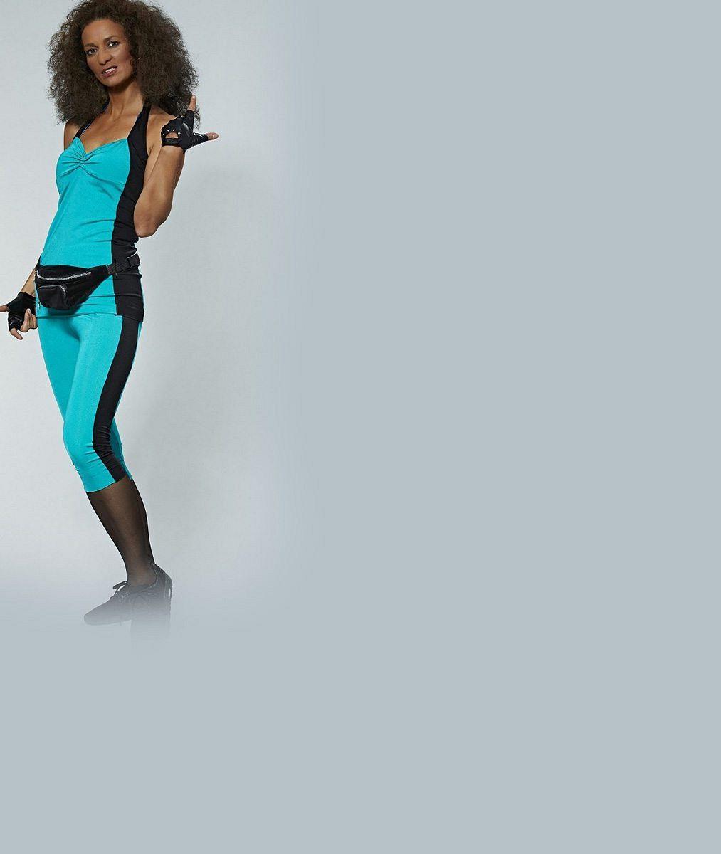 Barva půjčená, ale svaly vlastní: Adéla Gondíková v Tváři zapojila bicáky. A že je co ukázat!