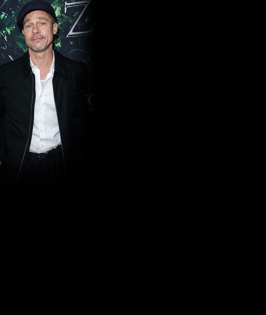Pohublý a opuštěný Brad Pitt přišel na premiéru filmu, v němž si nakonec nezahrál