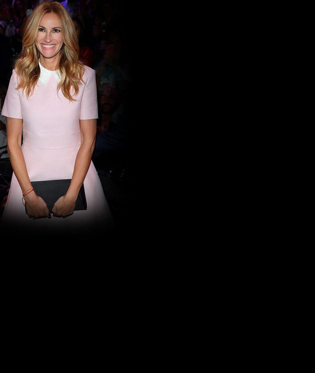 České krásky na akci se slavnou Pretty Woman. Julia Roberts prý neztrácí oslnivý úsměv ani na prahu padesátky