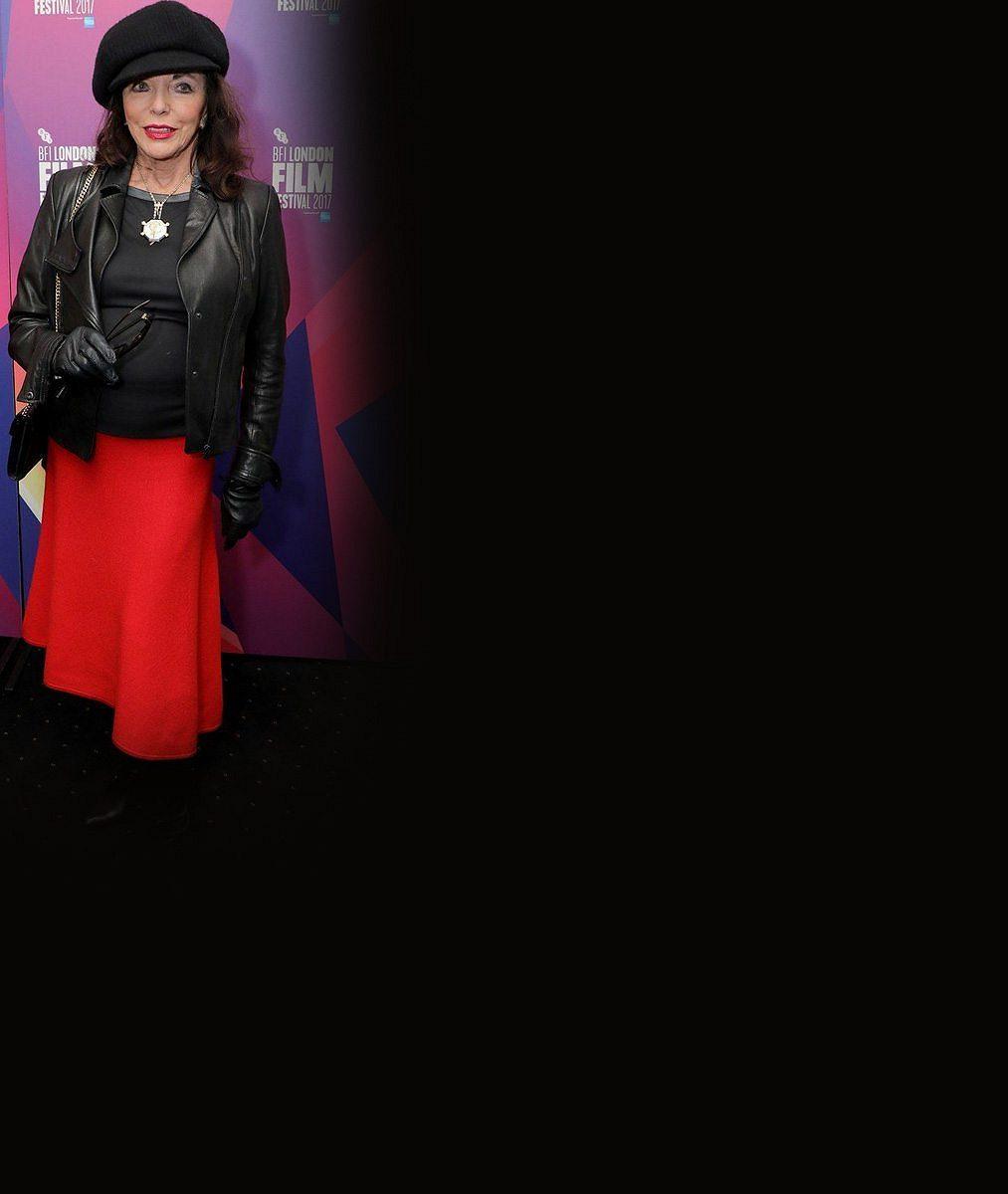 Konečně se neobléká jako Alexis zDynastie: Joan Collins (84) ve šmrncovním outfitu omládla ocelou generaci