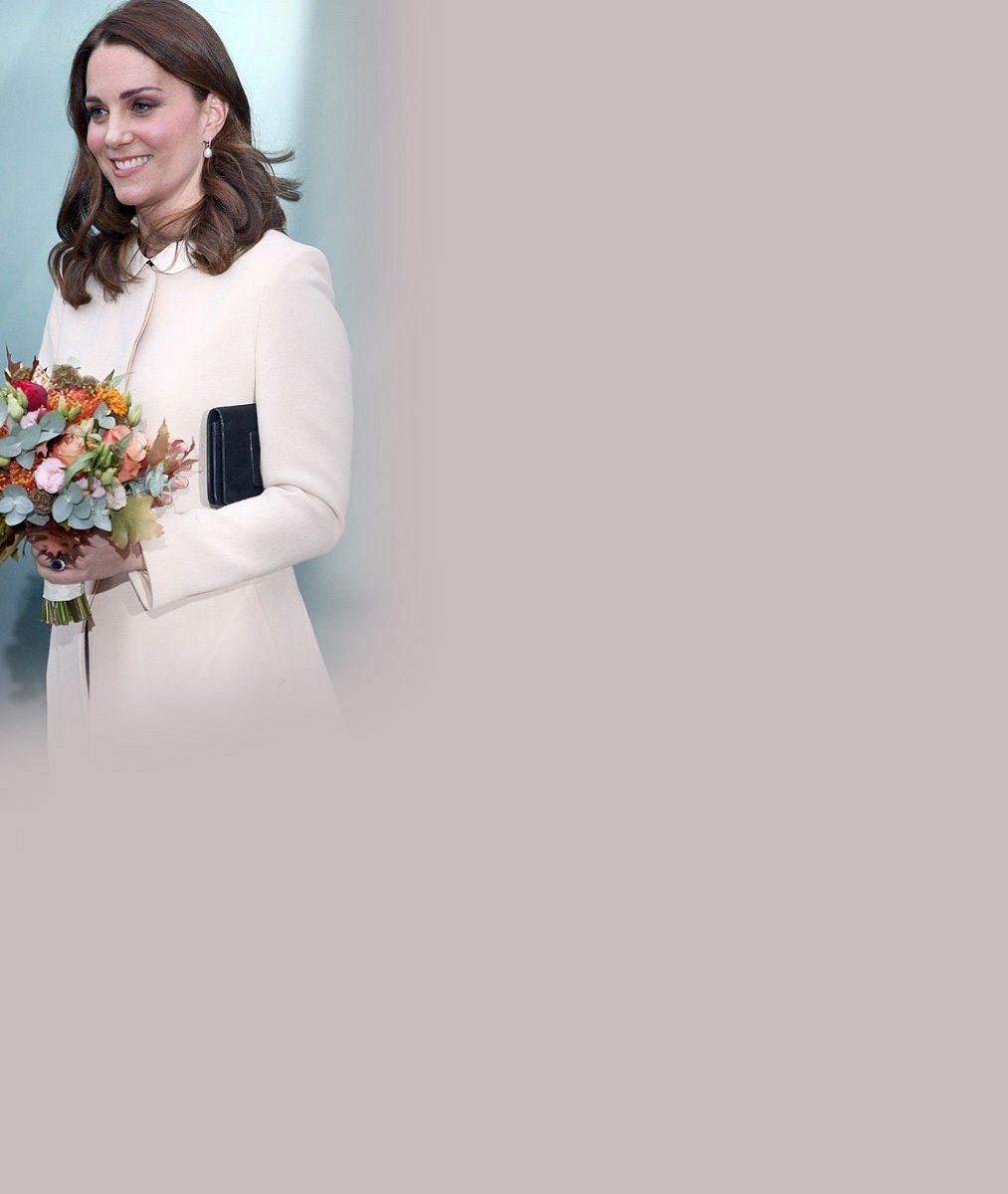 Usměvavá vévodkyně Kate před porodem podporuje jiné maminky: Její rodinka bude za pár měsíců pětičlenná
