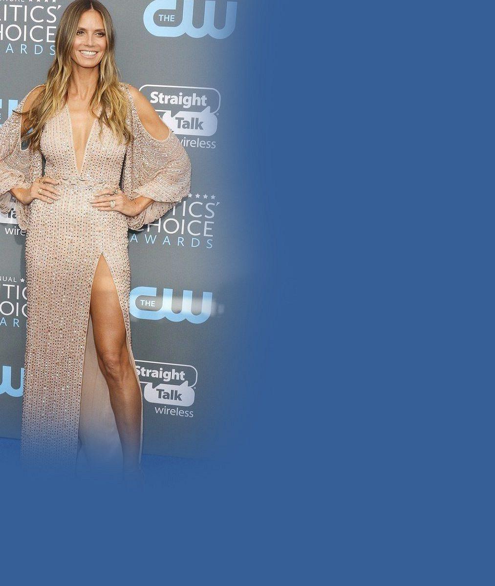 Heidi Klum (44) si opět říká o pozornost: A rovnou nahoře bez