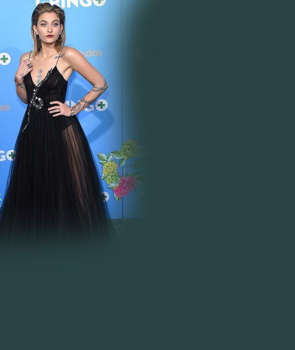 Z dcery Michaela Jacksona je herecká hvězda: Na premiéře jí garde dělal bratr