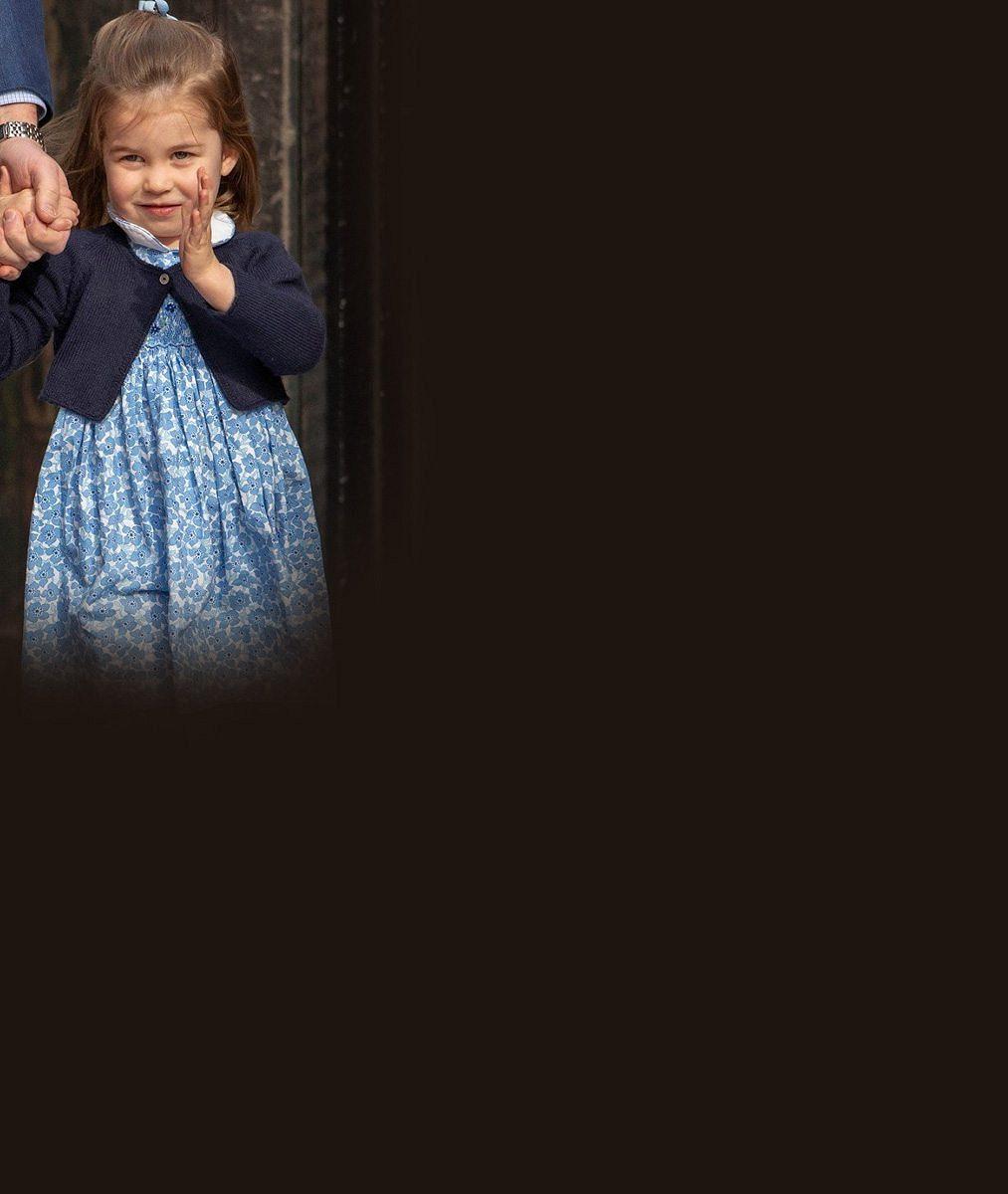 Princezna Charlotte slaví třetí narozeniny! Už teď vystupuje jako královna