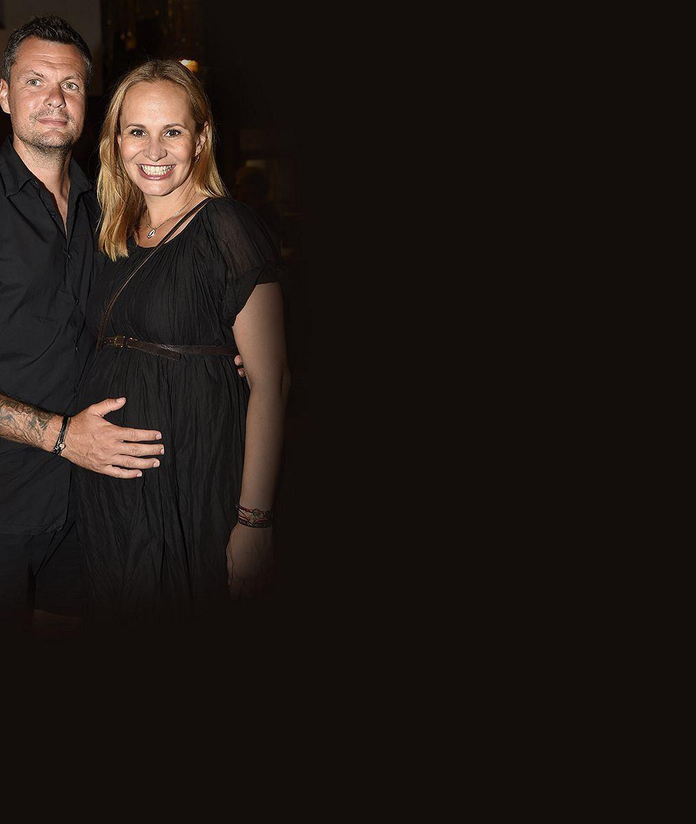 Monika Absolonová se raduje z rozesmátého miminka. Matoušovi jsou 2 měsíce a je kouzelný