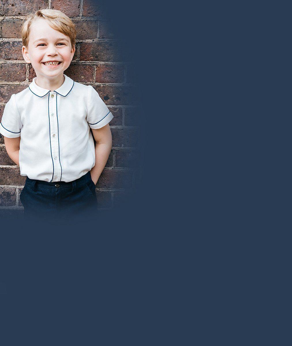 V pěti letech už je jedním z nejlépe oblékaných Britů! Jeho roztomilost princ George zabodoval svetříky a ponožkami