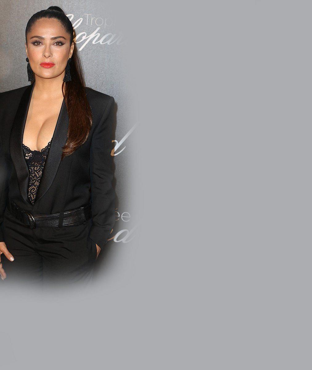 5 rajcovních fotek oslavenkyně Salmy Hayek! Sexy herečka slaví narozeniny, ale vůbec přitom nestárne