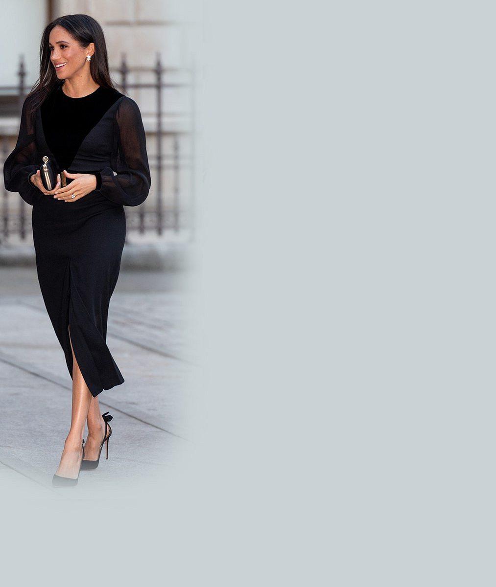 5 outfitů, které už vévodkyně Meghan neoblékne: Minisukně i sexy šaty s výstřihy jsou minulostí